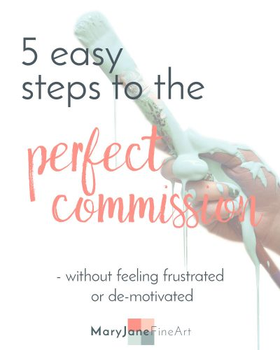 5 easy steps to the perfect commission